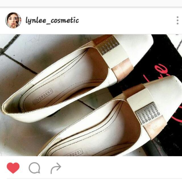 Sepatu High Heels White
