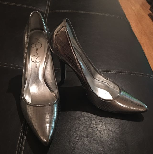 Silver Heels - Jessica Simpson