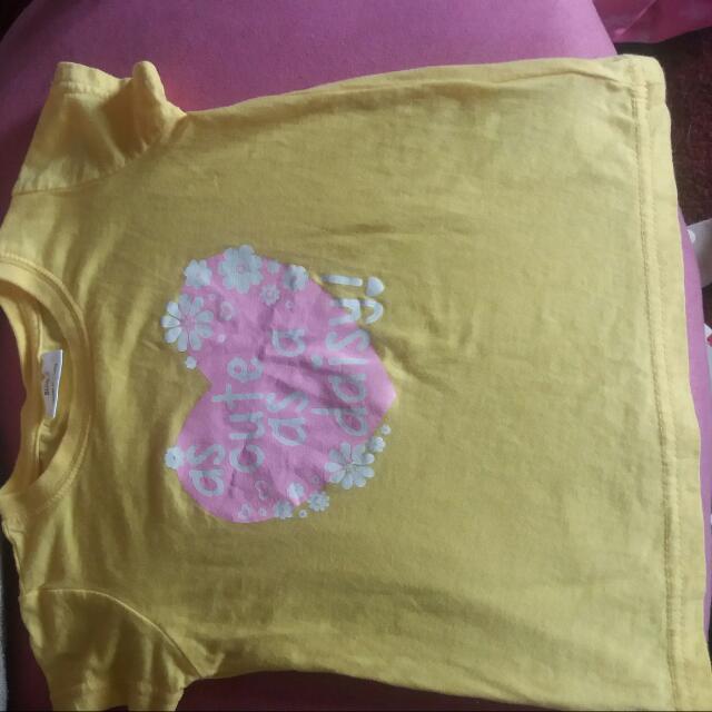 Size 2 Yellow Tee