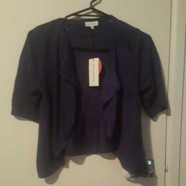 Size Small Short Sleeve Cardi