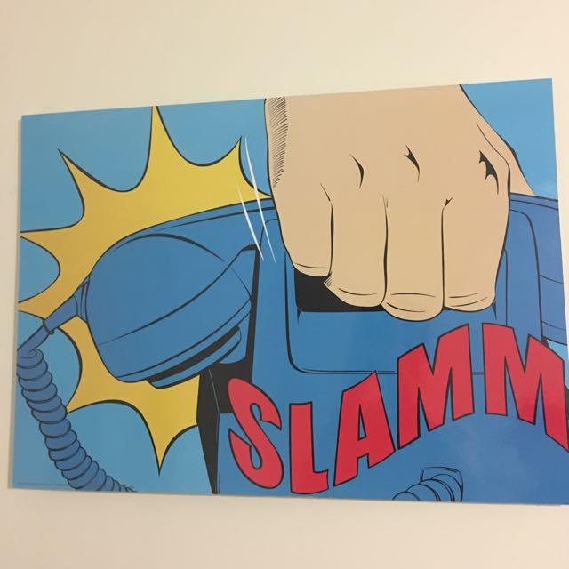 Slam Wall Hanging