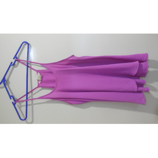 Spaghetti Strap Purple Top
