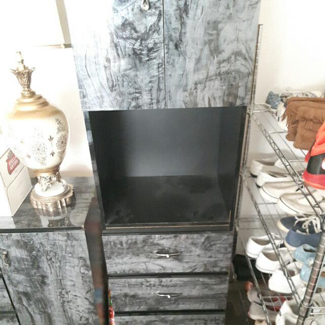 Standing Cabinet.  Perfect Condition Pick Up Only No Delivery. Serious Inquiries Only.   $80, Price Is Negotiable.