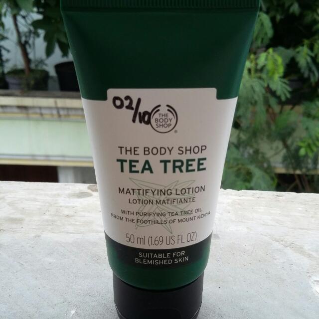 Tea Tree The Body Shop (Pelembab)