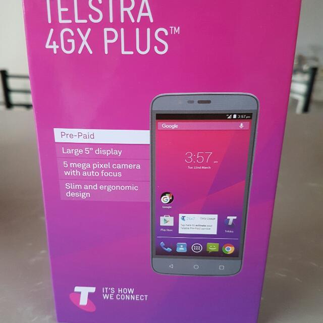 Telstra 4G Plus Pre Paid Phone