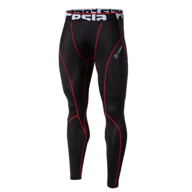 e1f5a1f3f2c8fe INSTOCK) Mens Tesla Gears Long Compression Tights / Shorts / Pants ...