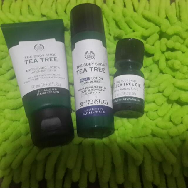 The Body Shop Tea Tree Paket