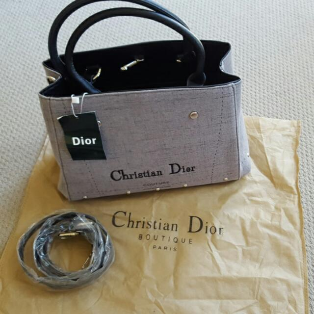 (Price Drop) Not Real yah!!☺ Christian Dior Hand Bag