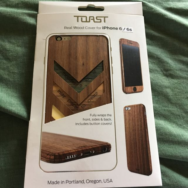 """Toast"" iPhone 6/6s Real Wood Skin"