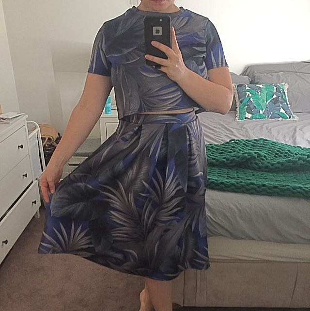 Two Piece Spring Races Dress