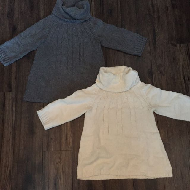Two Size Small Turtle Neck Sweaters