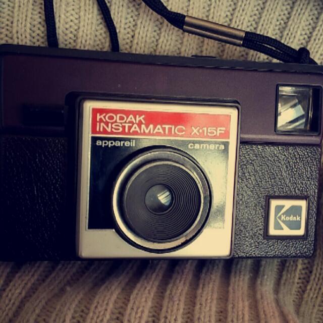 Vintage Kodak Instamatic X.15F Camera
