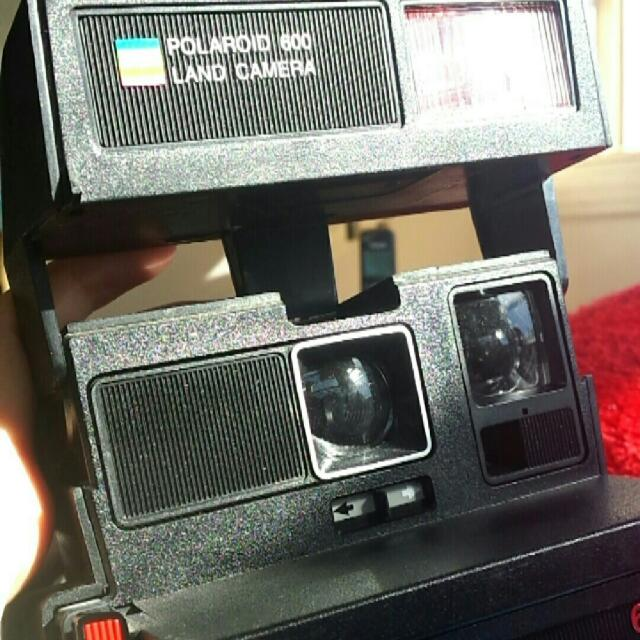 Vintage Polaroid 600 Rainbow Land Camera