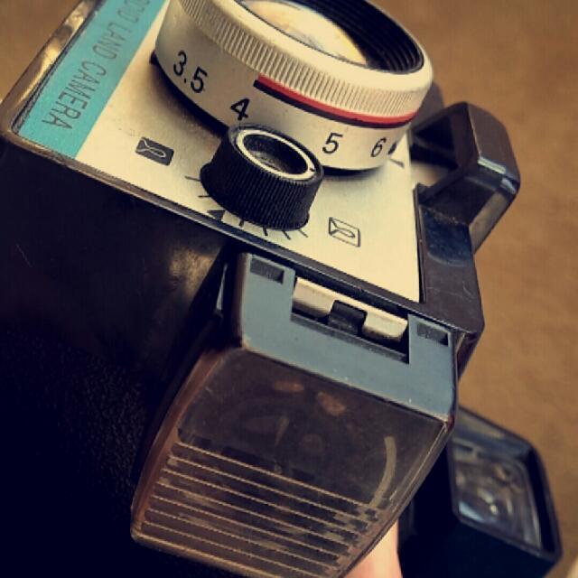 Vintage Super Shooter Polaroid Land Camera