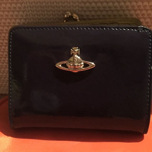 Vivienne Westwood Small Patent Leather Wallet