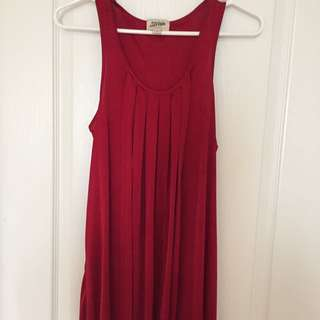 Gean Paul Gualtter Size Small Beautiful Red Evening or Party Dress