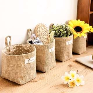 Zakka Sundry Mini Storage Bag