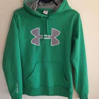 Green Underarmer Sweater -barely Worn