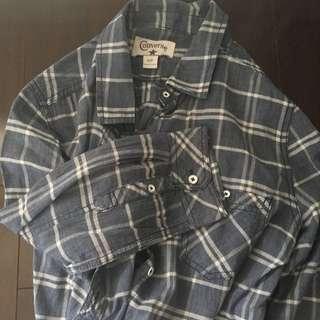 Converse Button Down Fall Shirt