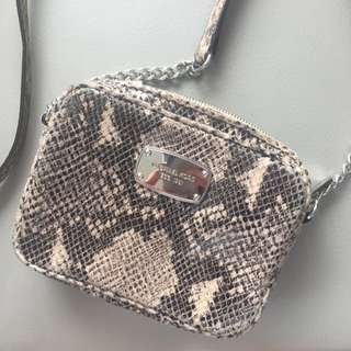 Michael Kors Snakeskin Cross Body