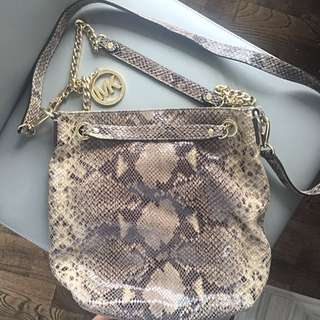 Michael Kors Snakeskin Bag