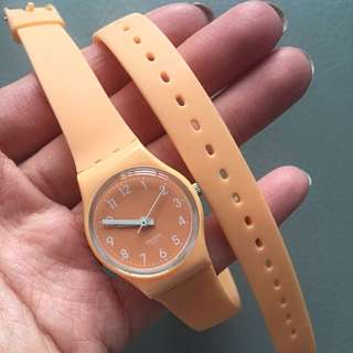SWATCH Double Wrap Watch