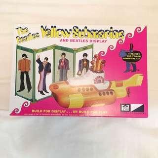 Beatles Yellow Submarine model kit