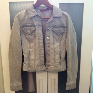 ♡Grey Jean Jacket From Guess