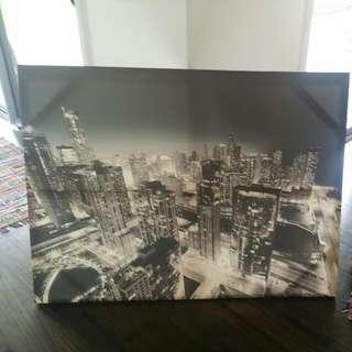 City Print Canvas 1.5 X 90