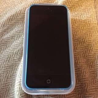 Blue Telus 10/10 iPhone 5C