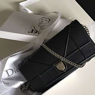 Dior Wallet with Chain.