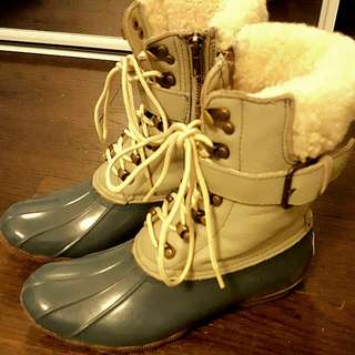 Limited Edition Sperry For J. Crew Boots