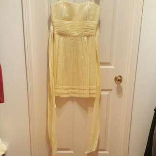 ***MOVING SALE***BCBG Dress - Pastel Yellow