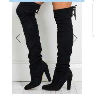 Princess Polly Thigh Boots