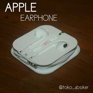Earphone / Headset Iphone Apple ( Earpods )