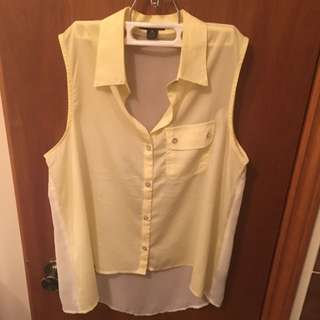 Women's Sheer Sleeveless Top