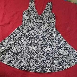 Sleeveles Mini Floral Dress