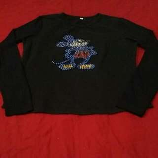 Mickey Long Sleeved Blouse
