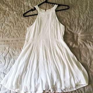 Mink Pink White Dress Size 10