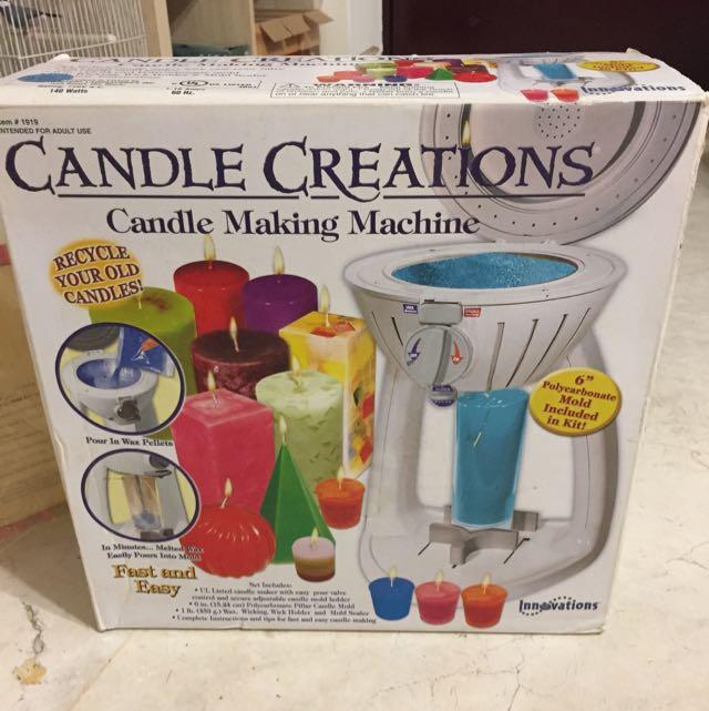 做蠟燭機器+10磅的蠟燭原料