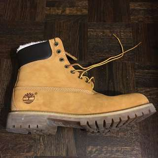 Men's Timberlands,size 10
