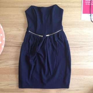 asos petite black dress size 6
