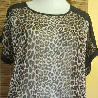 #leopard#blouse#goodqwality (Free Ongkir)