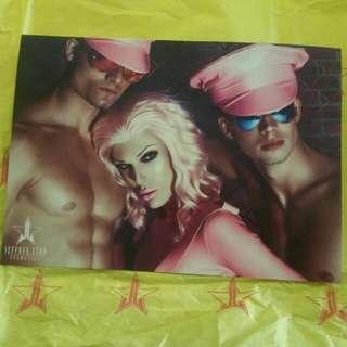 Jeffree Star Lip Ammunition Promo Card