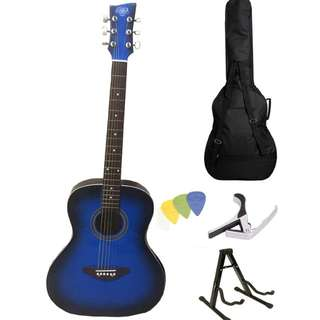 "SB Lumanog 40"" Acoustic Guitar Package"