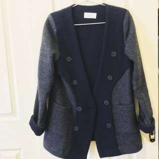 Korean Made Autumn-Winter Wool Coat