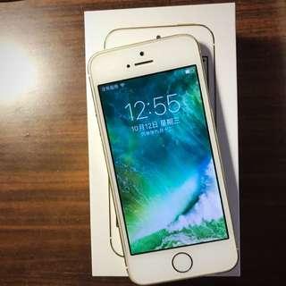 iPhone 5s 16g-香檳金