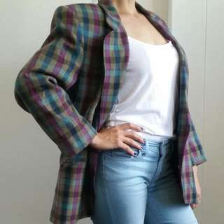 Vintage Blazer Size 8 To Small 10