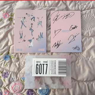 ON HOLD Signed Rare GOT7 Album