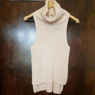 Knitted Light Pink Top Size S/M
